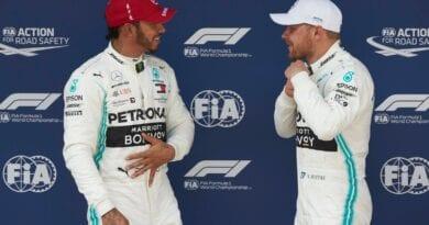 Hamilton-Bottas Mercedes