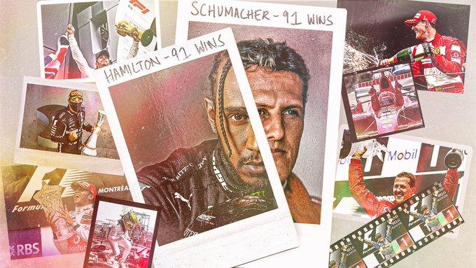 Lewis Hamilton - Michael Schumacher