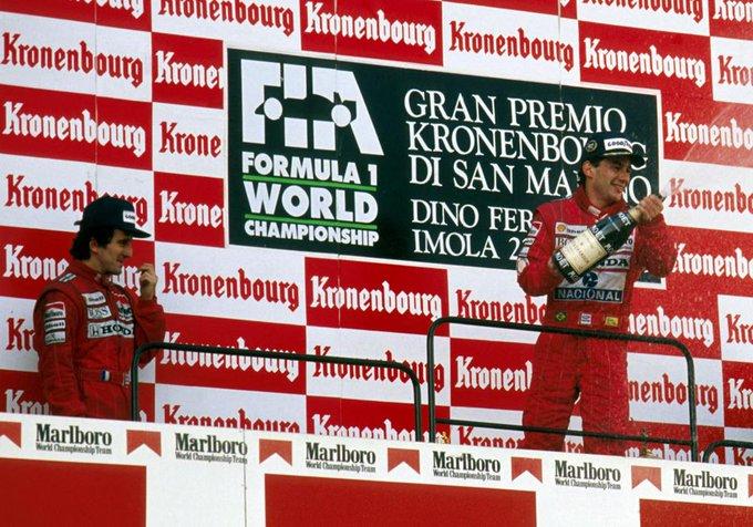 top 10 - Alain Prost vs Ayrton Senna