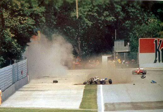 top 10 - Ayrton Senna - accident