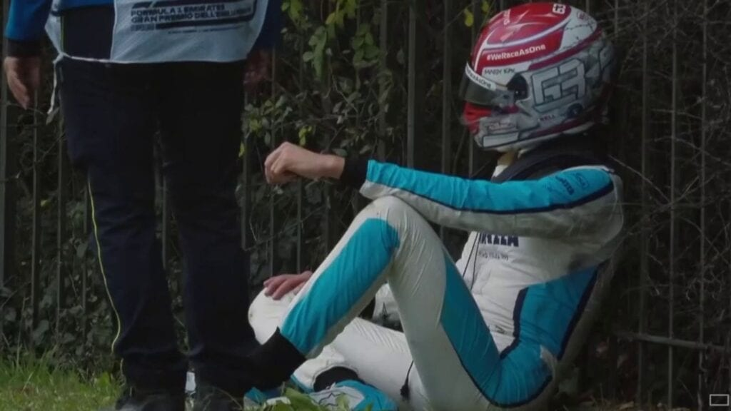 George Russell, Imola 2020