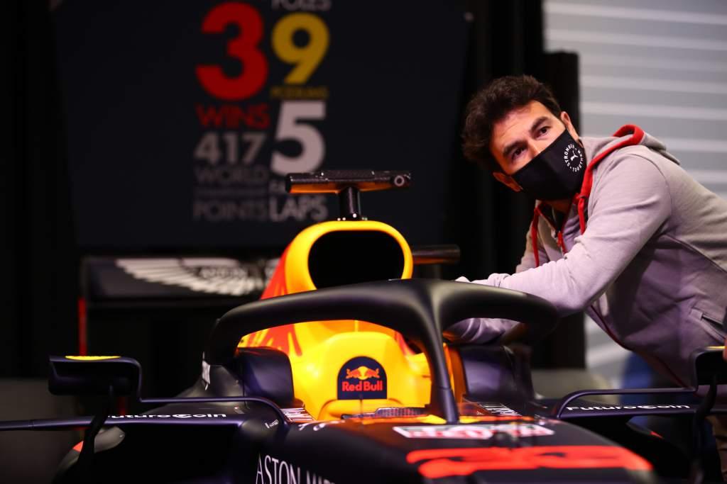 Sergio Perez, Red Bull.