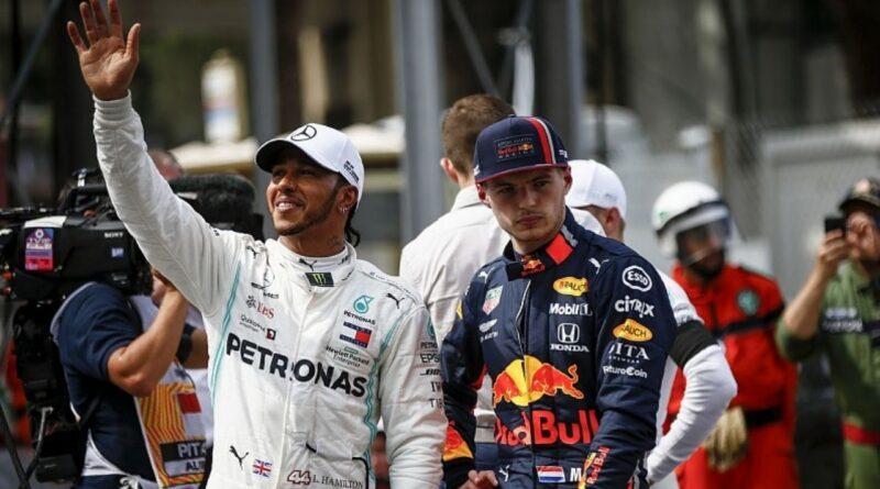 Hamilton Verstappen