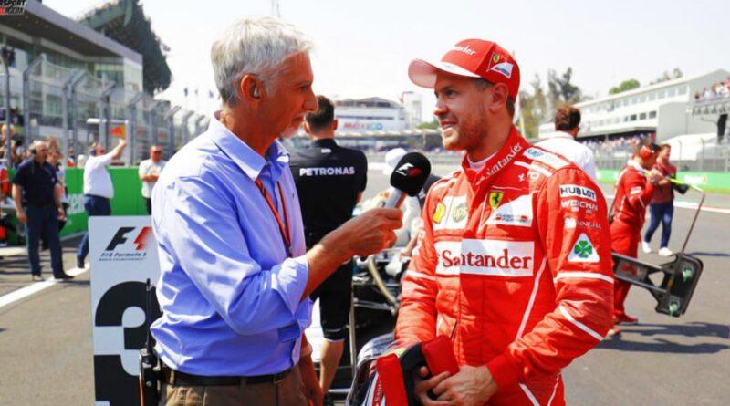 Damon Hill Sebastian Vettel